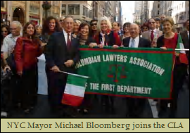 Mayor Bloomberg & CLA